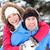 zimą · para · szczęśliwy · na · barana · śniegu · uśmiechnięty - zdjęcia stock © maridav