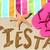 playa · fiesta · fiesta · viaje · diversión · escrito - foto stock © Maridav