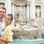 туристических · пару · путешествия · Фонтан · Треви · Рим · Италия - Сток-фото © maridav