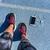 mulher · sapatos · grama · par · dia - foto stock © maridav