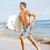 plaj · eğlence · sörfçü · adam · çalışma · uygun - stok fotoğraf © maridav