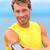 moe · runner · adem · marathon · lopen · mannelijke - stockfoto © maridav