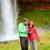 kamery · wodospad · Islandia · romantyczny · para - zdjęcia stock © Maridav