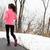 winter running in park   female runner exercising stock photo © maridav
