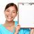 enfermeira · clipboard · assinar · papel · em · branco · cópia · espaço - foto stock © maridav