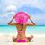 las · mujeres · jóvenes · traje · de · baño · sesión · arena · mar · playa - foto stock © maridav