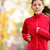 woman runner running in autumn stock photo © maridav