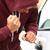 tolvaj · autó · ajtó · férfi · biztosítás · kesztyű - stock fotó © maridav