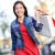shopper   woman shopping outside stock photo © maridav
