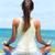 meditazione · donna · spiaggia · Ocean · mare - foto d'archivio © maridav
