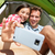camping couple in tent taking selfie smartphone stock photo © maridav