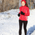 winter snow runner woman stock photo © maridav