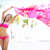 spiaggia · donna · sciarpa · felice · libero - foto d'archivio © maridav