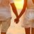 愛 · 浪漫 · 情侶 · 手牽著手 · 海灘 · 日落 - 商業照片 © maridav