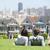 pintado · damas · residencial · hogares · parque · San · Francisco - foto stock © maridav