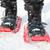 wandelen · schoenen · sneeuw · natuur · metaal · veld - stockfoto © maridav