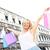 alışveriş · kadın · mutlu · Venedik - stok fotoğraf © maridav