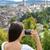 imagen · ciudad · Suiza · dramático · puesta · de · sol - foto stock © maridav