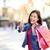 笑顔の女性 · ショッピングバッグ · 小売 · ジェスチャー - ストックフォト © maridav