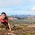 fitness · vrouw · buiten · strand · geschikt · vrouwelijke - stockfoto © maridav