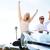 liberdade · feliz · livre · Casal · carro · conduçao - foto stock © maridav
