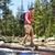 escursioni · scarpe · uomo · escursionista · bilanciamento · fiume - foto d'archivio © maridav
