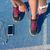 futócipők · lány · láb · fut · útvonal · sáv - stock fotó © maridav