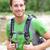 active man portrait of sporty guy hiking outdoors stock photo © maridav