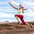 success freedom carefree runner woman running fun stock photo © maridav