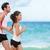 を実行して · ランナー · ジョギング · 訓練 · カーディオ · ビーチ - ストックフォト © maridav