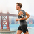 running man   male runner in san francisco stock photo © maridav