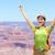 wolności · przygoda · kobieta · szczęśliwy · Grand · Canyon · wolna - zdjęcia stock © maridav