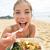 девушки · еды · кафе · пляж · лет · праздников - Сток-фото © maridav