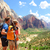 senderismo · excursionistas · mirando · vista · parque · personas - foto stock © Maridav