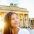 Brandenburgi · kapu · naplemente · híres · Berlin · épület · város - stock fotó © maridav