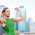 winnend · atleet · man · runner · vieren · New · York - stockfoto © maridav