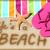 playa · sobrepeso · sabueso · sol · perro · mar - foto stock © maridav