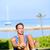 training fitness man doing sit ups exercise stock photo © maridav