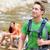 people hiking   man hiker walking in zion park stock photo © maridav