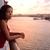 отпуск · женщину · закат · путешествия - Сток-фото © maridav