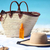 beach bag and hat sunglasses and sunscreen lotion stock photo © maridav