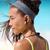 fitness · meisje · sport · draadloze · hoofdtelefoon · asian - stockfoto © Maridav