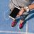 fitness · runner · dziewczyna · muzyki · telefonu · komórkowego · app - zdjęcia stock © maridav