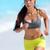 jonge · geschikt · asian · vrouw · runner · lopen - stockfoto © Maridav