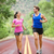 due · persone · jogging · fitness · esecuzione · strada · fuori - foto d'archivio © Maridav