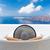 Európa · Görögország · Santorini · utazás · vakáció · nő - stock fotó © maridav