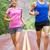 esecuzione · persone · due · runners · jogging · strada - foto d'archivio © Maridav