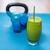 グリーンスムージー · 飲料 · わら · 木材 · フィットネス · ガラス - ストックフォト © maridav
