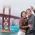 Golden · Gate · Bridge · heureux · Voyage · couple · San · Francisco · USA - photo stock © maridav