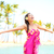 瞑想 · 禅 · 女性 · 瞑想 · ハワイ · ビーチ - ストックフォト © maridav